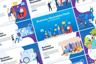Business Illustration Presentation