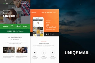 Uniqe Mail - Responsive E-mail Templates