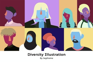 Diversity People Illustration