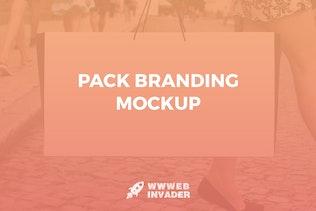 Pack Branding Mockup