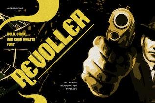 Revoller - Decorative Sans Font