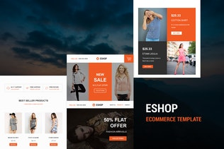 ESHOP - Responsive E-mail Template