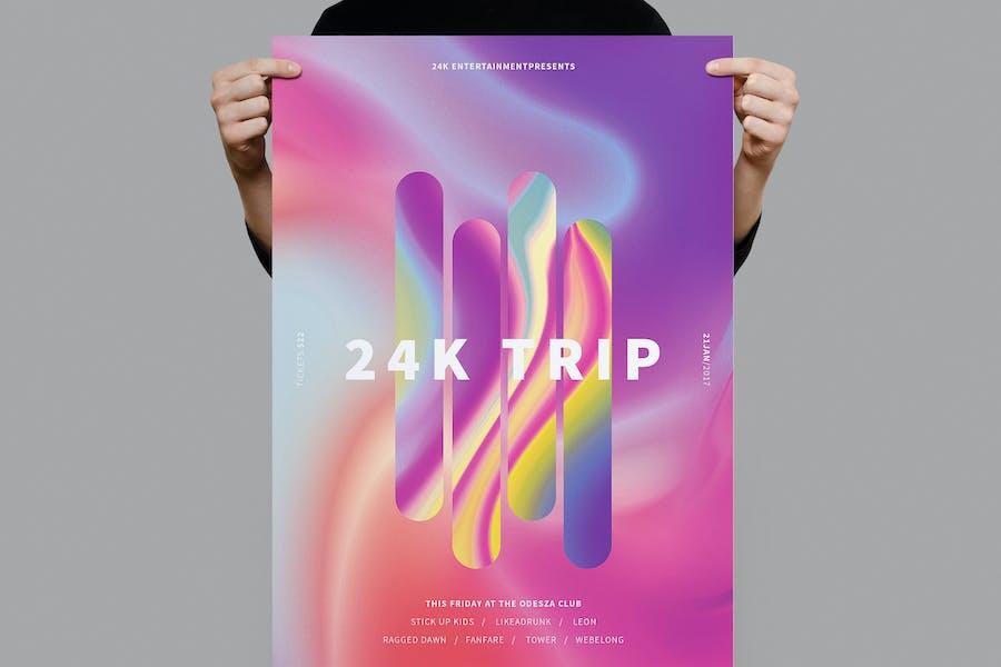 24K Trip Poster / Flyer