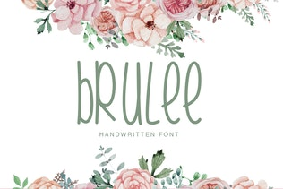 Brulee | Font Duo