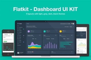 Flatkit - Dashboard UI KIT