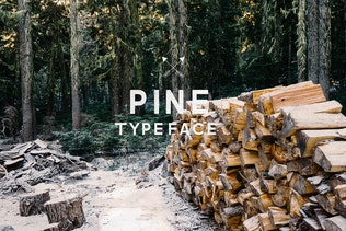 Pine Font
