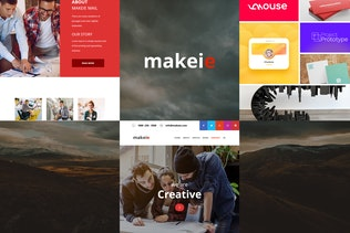 Makeie - 30+ Modules E-mail Templates