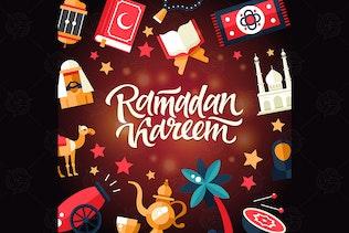 Ramadan Kareem - vector illustration