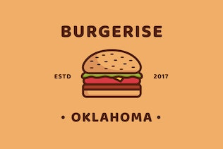 Burger - Logo Template