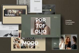 Portfolio - Creative Lookbook Fashion
