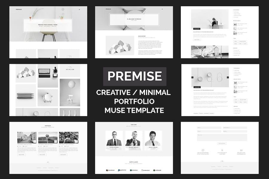 Premise - Creative and Minimal Portfolio