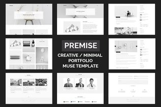 Premise - Creative and Minimal Portfolio
