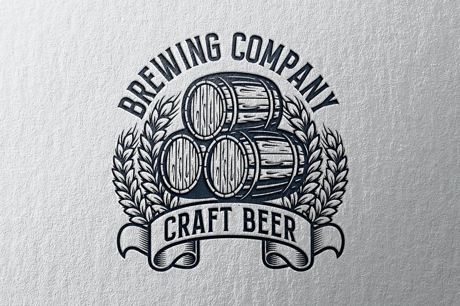 Brewing Vintage Logo Template