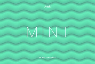 Mint | Soft Abstract Wavy Backgrounds