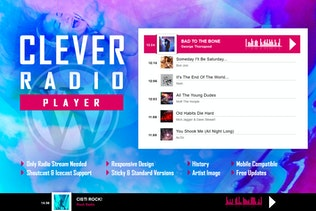 CLEVER - HTML5 Radio Player With History WP Plugin