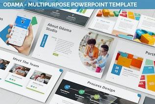 Odama - Multipurpose Powerpoint Template