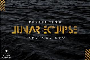 Lunar Eclipse Font Duo