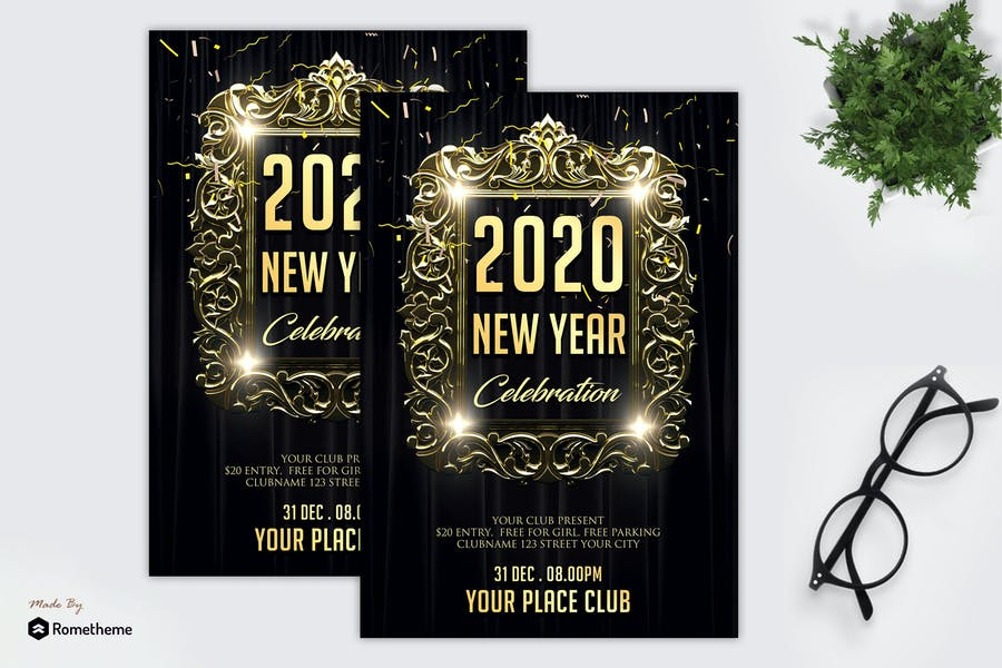 New Year Celebration Party - Flyer MR