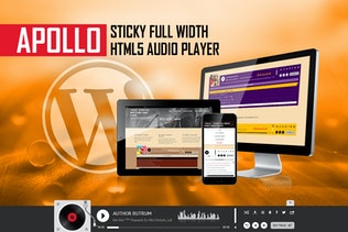 Apollo - Sticky Full Width HTML5 Audio Player