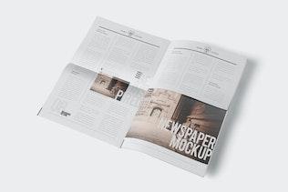 Professional Newspaper Ad PSD Mockups