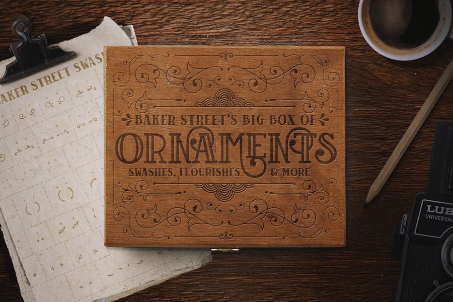 Cover for Baker Street Ornaments