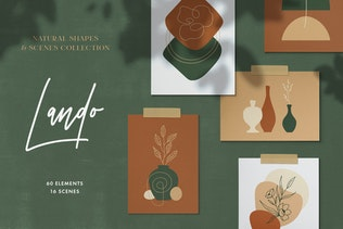 Natural Shapes & Scenes Collection