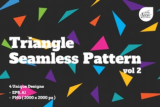 Triangle Seamless Patterns vol 2