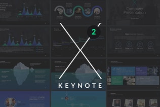 X Note (VOL.02) - Keynote Template