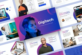 Digitech - IT & Technology Company Presentation