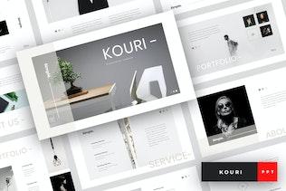 Kouri - Minimal PowerPoint Template