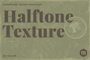 Halftone Texture Pack Background