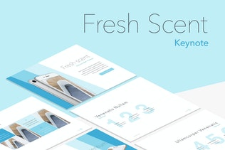 Fresh Scent Keynote Template
