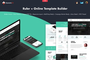 Ruler - Creative Agency Portfolio Email + Builder
