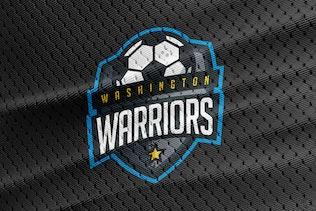 Washington Warriors - Soccer Team Logo