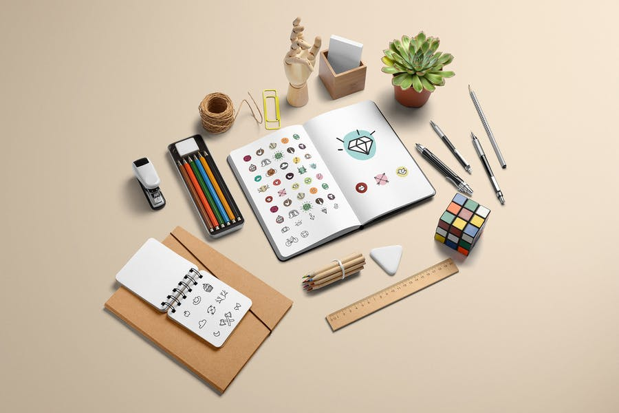 Branding Mockup Essentials Vol. 4
