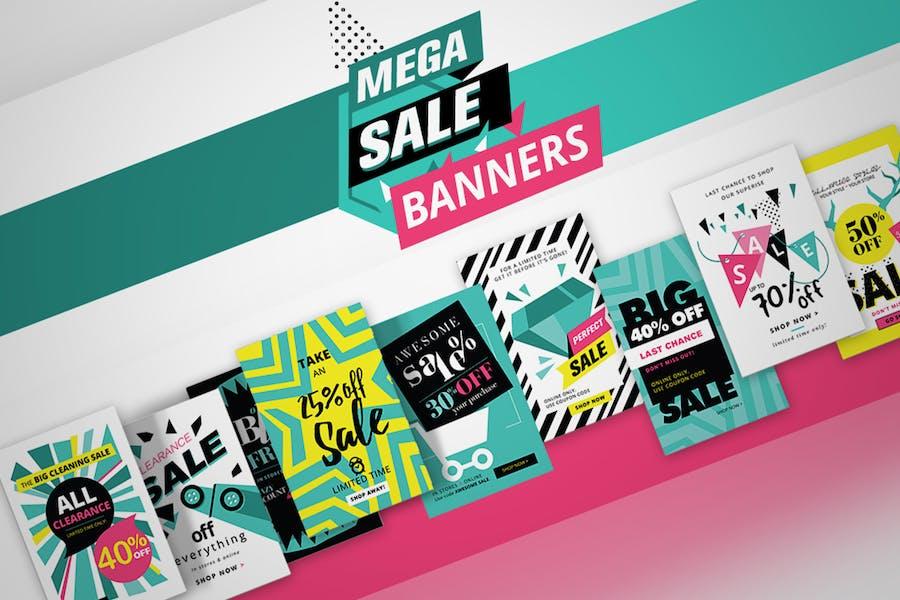 Social Media Sale Banners