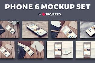 Phone 6 - Photorealistic Mock-Up