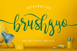 brushgyo typeface