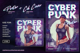Cyberpunk Poster CD Cover