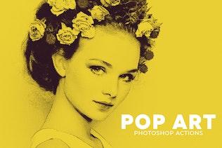 Pop Art Photoshop Actions