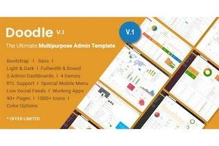 Doodle - The Ultimate Multipurpose Admin Template