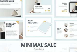 Minimal Sale PowerPoint Template