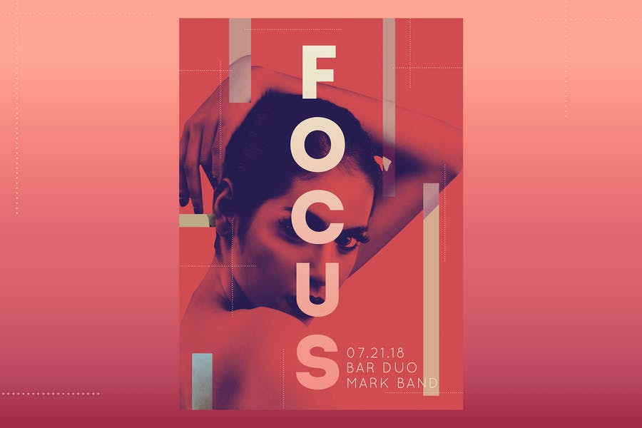 Focus Flyer Poster