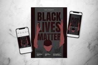 Black Lives Matter Poster Set