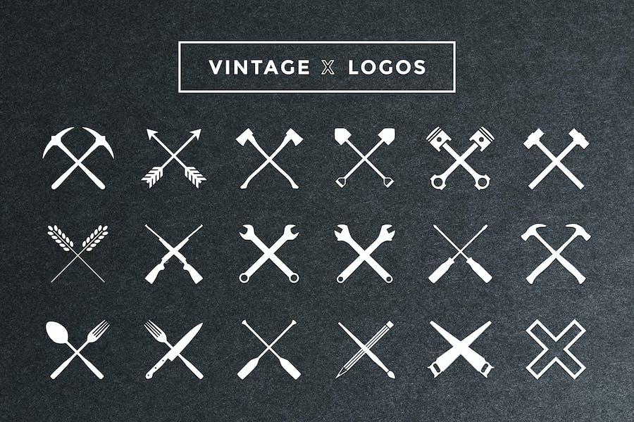 Vintage X Logos