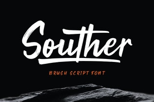 Souther - Brush Script Font