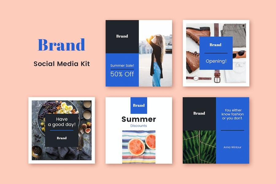 Brand Social Media Kit