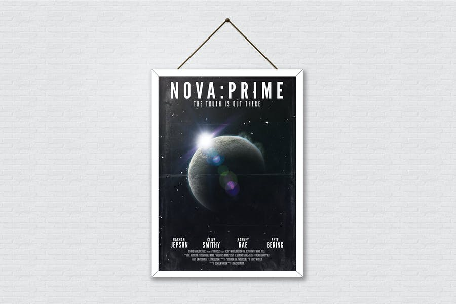 Sci Fi Movie Poster 2