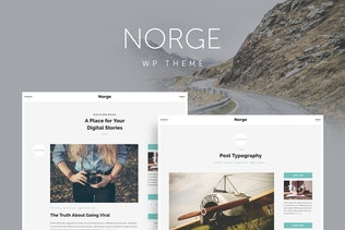 Norge - Responsive Blog WordPress Theme
