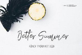 Its Miss Summer Font Duo